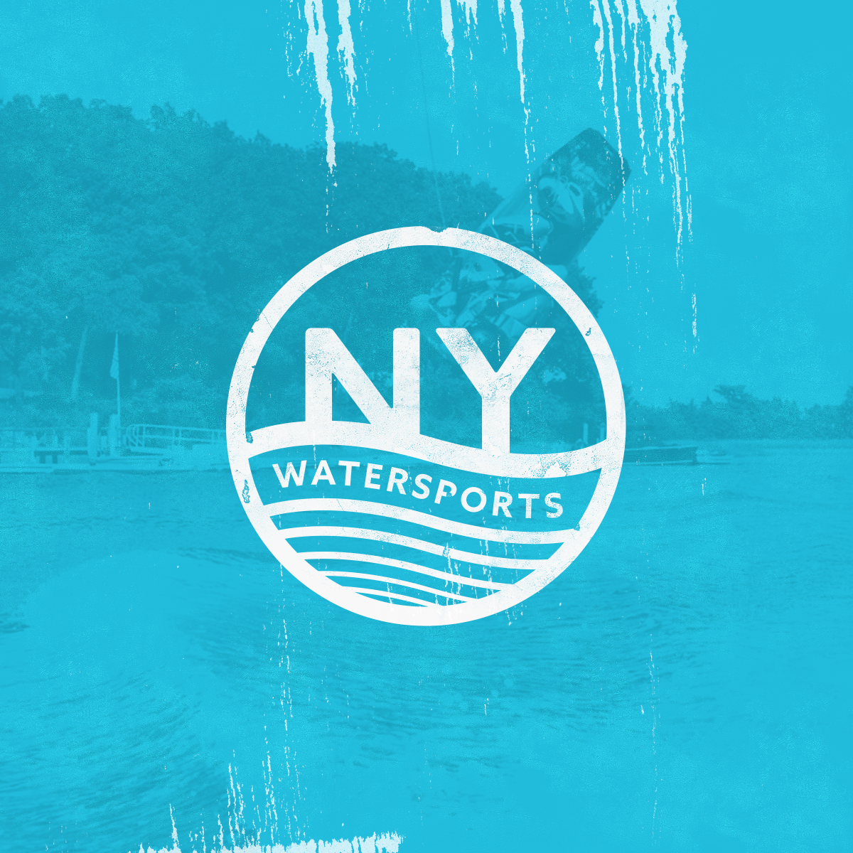 Ny watersports logo business cards on behance logo and business cards i created for ny watersports a long island ny based company teaches people how to wakeboard and waterski reheart Image collections