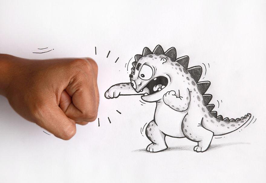 Надписью красивый, как нарисовать смешных картинок карандашом