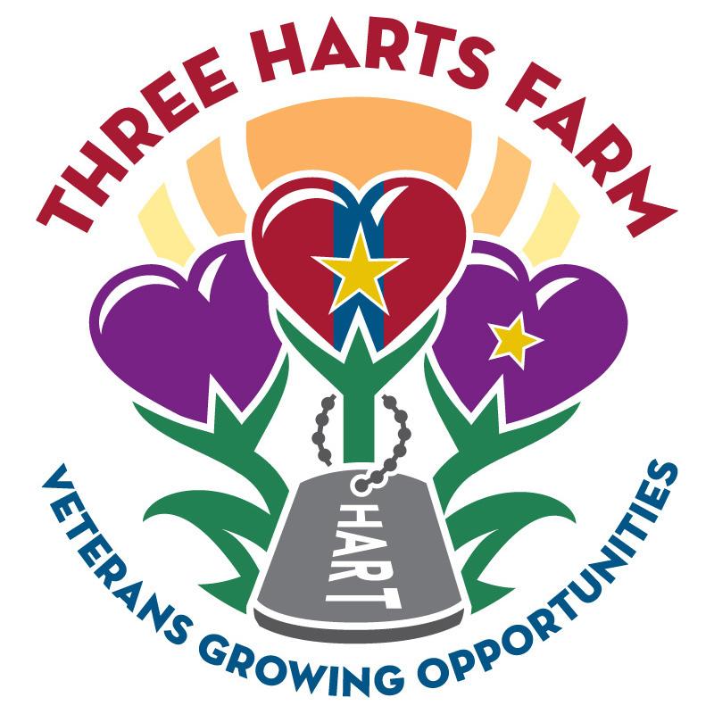 Three Harts Farm Logo On Behance