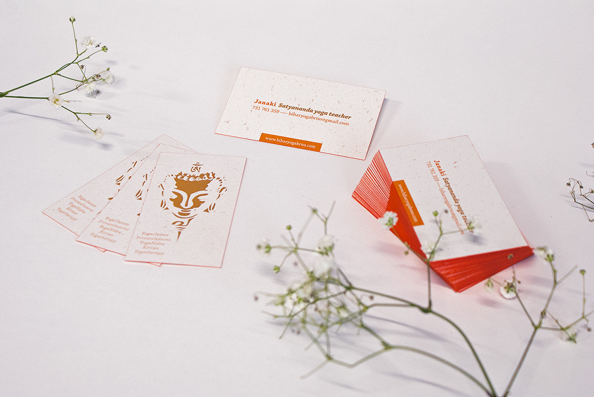 Recycled Paper Business Cards On Behance