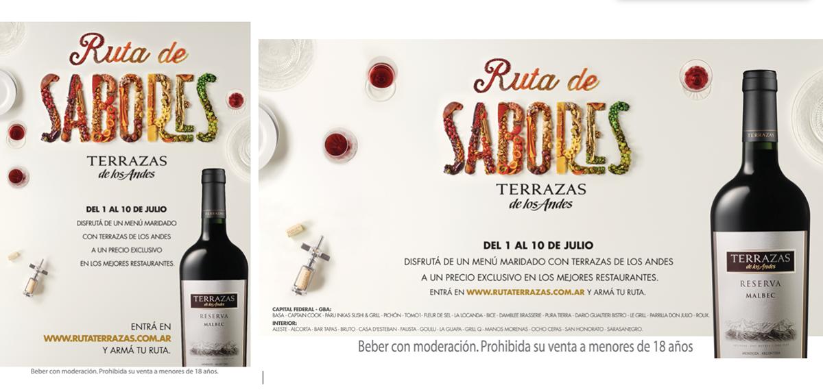 Ruta De Sabores Food Art Typography On Behance