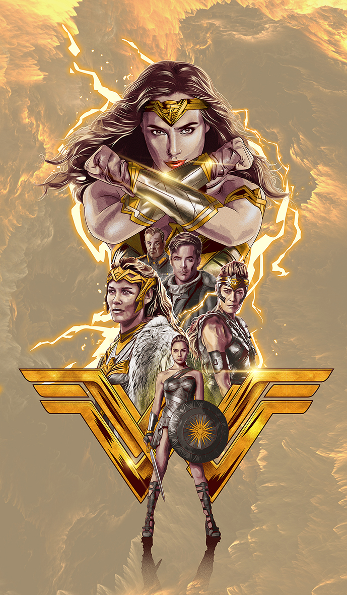Warner Bros Dc Comics Wonder Woman 2017 On Behance