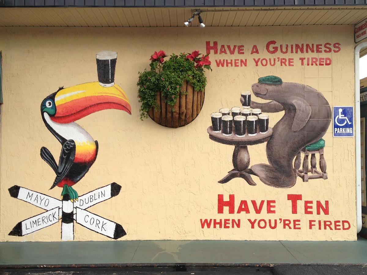 Hogan\'s Irish Bar Mural on Behance