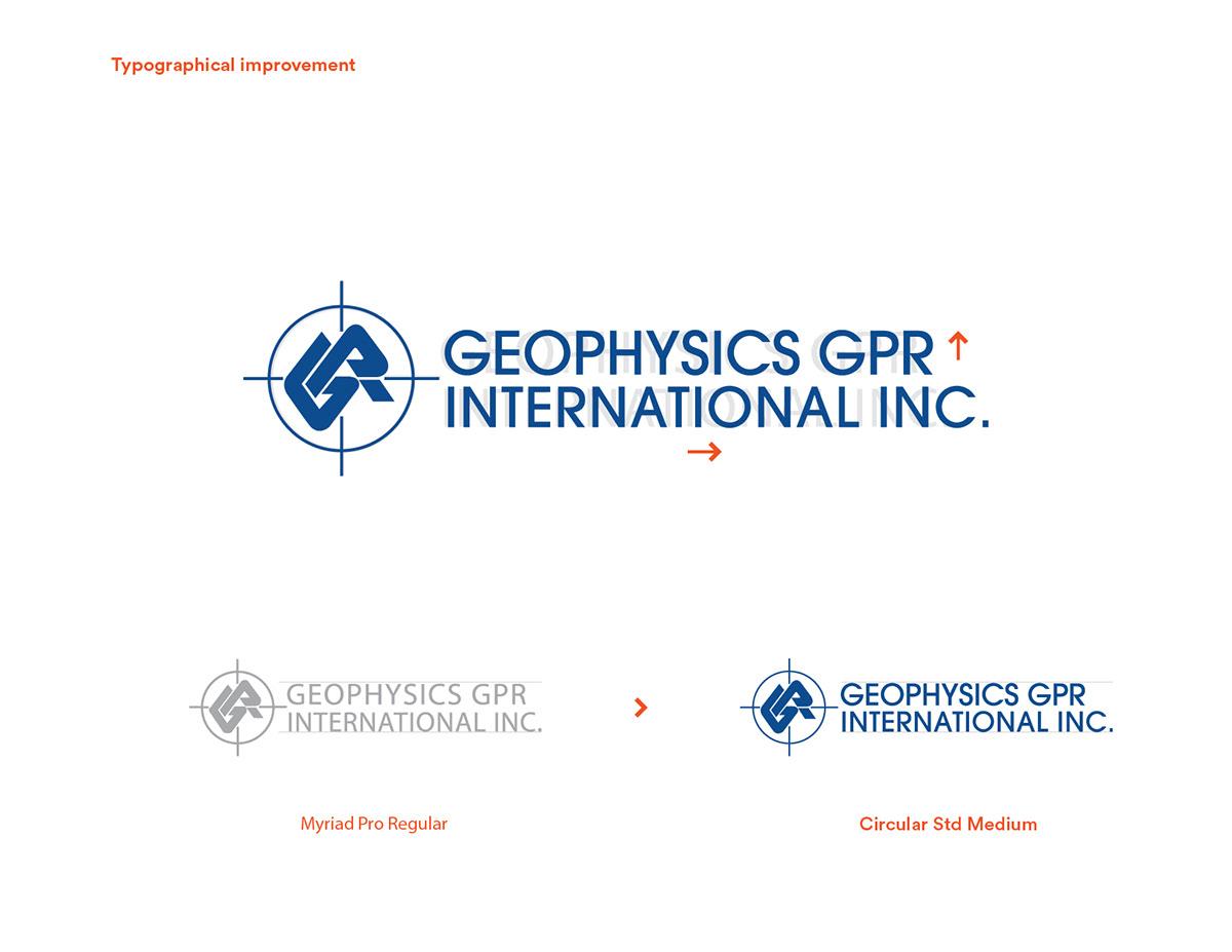 Geophysics GPR on Behance