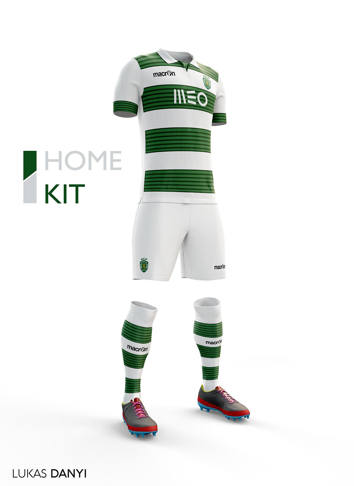 87219ca0796 Sporting CP Football Kit 16/17. on Behance