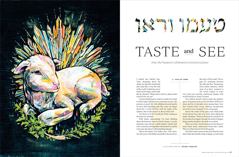 PASSOVER LAMB | Editorial Illustration on Behance