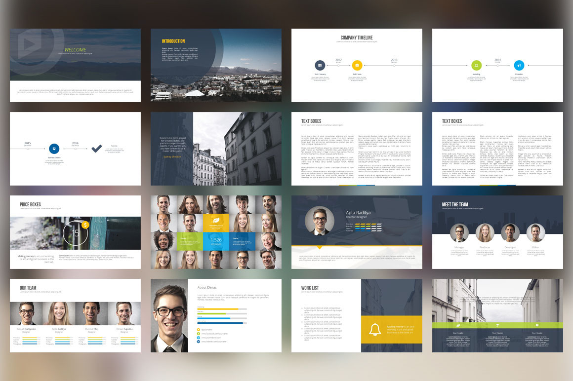 Whats hot bundle vol2 presentation templates on behance toneelgroepblik Images