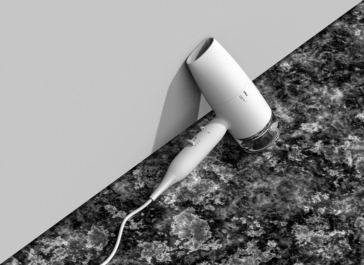 Hair Dryer JiyounKim Studio product design