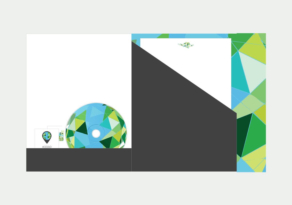 Travel  tourism  logo identity Brazil  stationery folio pen stickers cd folder business card envelope qrcode map