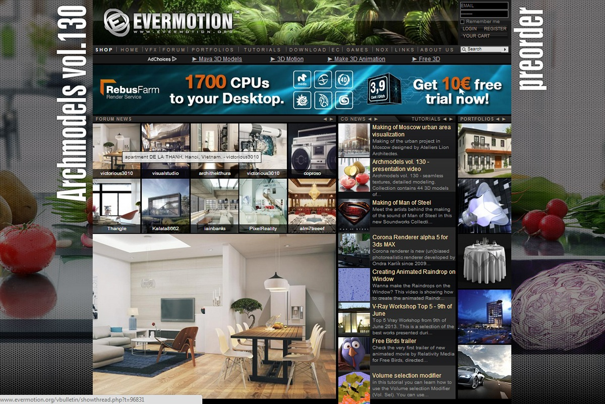 apartment. Hanoi city. Vietnam! on Behance