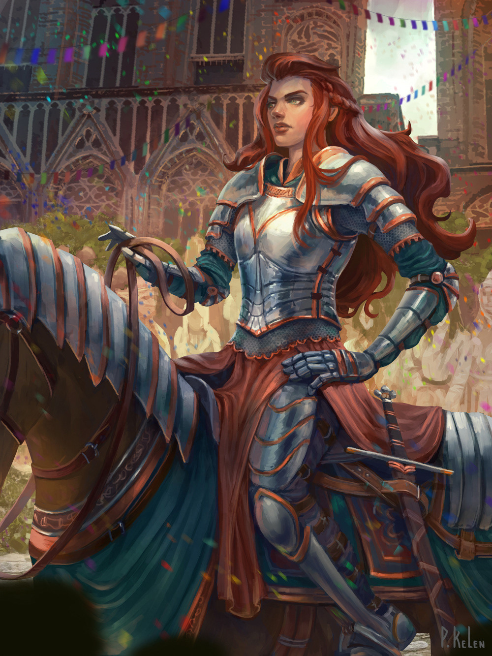 ILLUSTRATION  fantasy Magic   Character cheshirecat cardillustration
