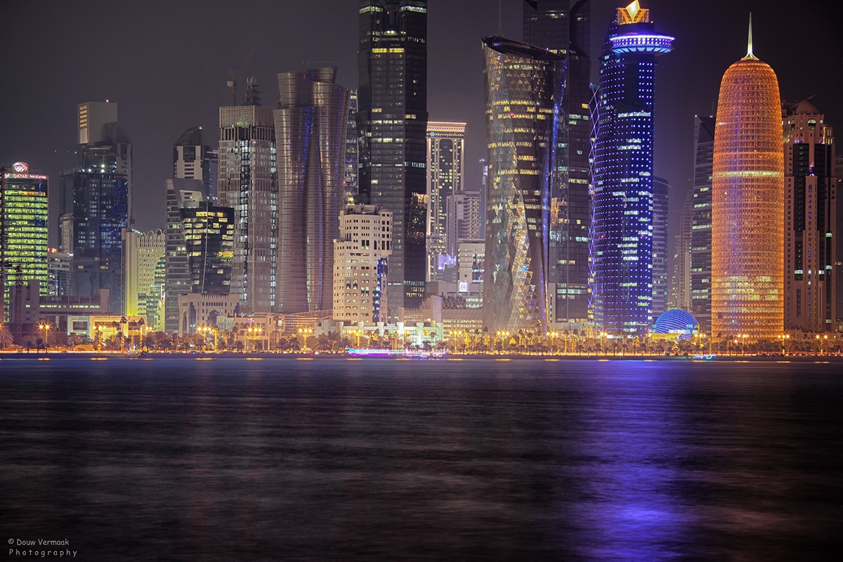 Doha Corniche Night Shots on Behance