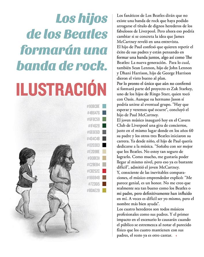 abbey road Baby Road Beatles the beatles ilustracion