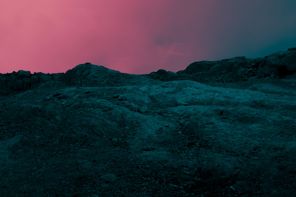 冰川 山谷 雪山 艺术 地貌 色彩
