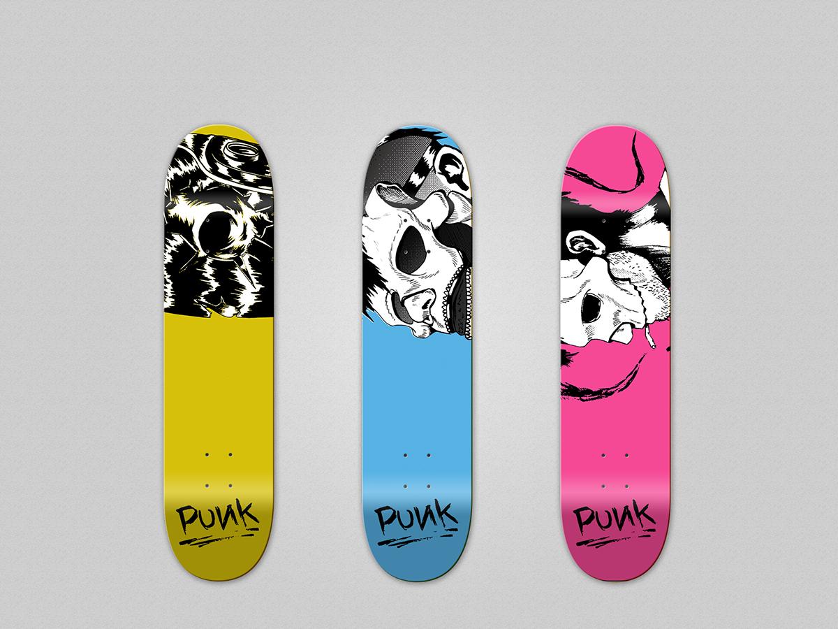 Custom Skate Decks on Wacom Gallery