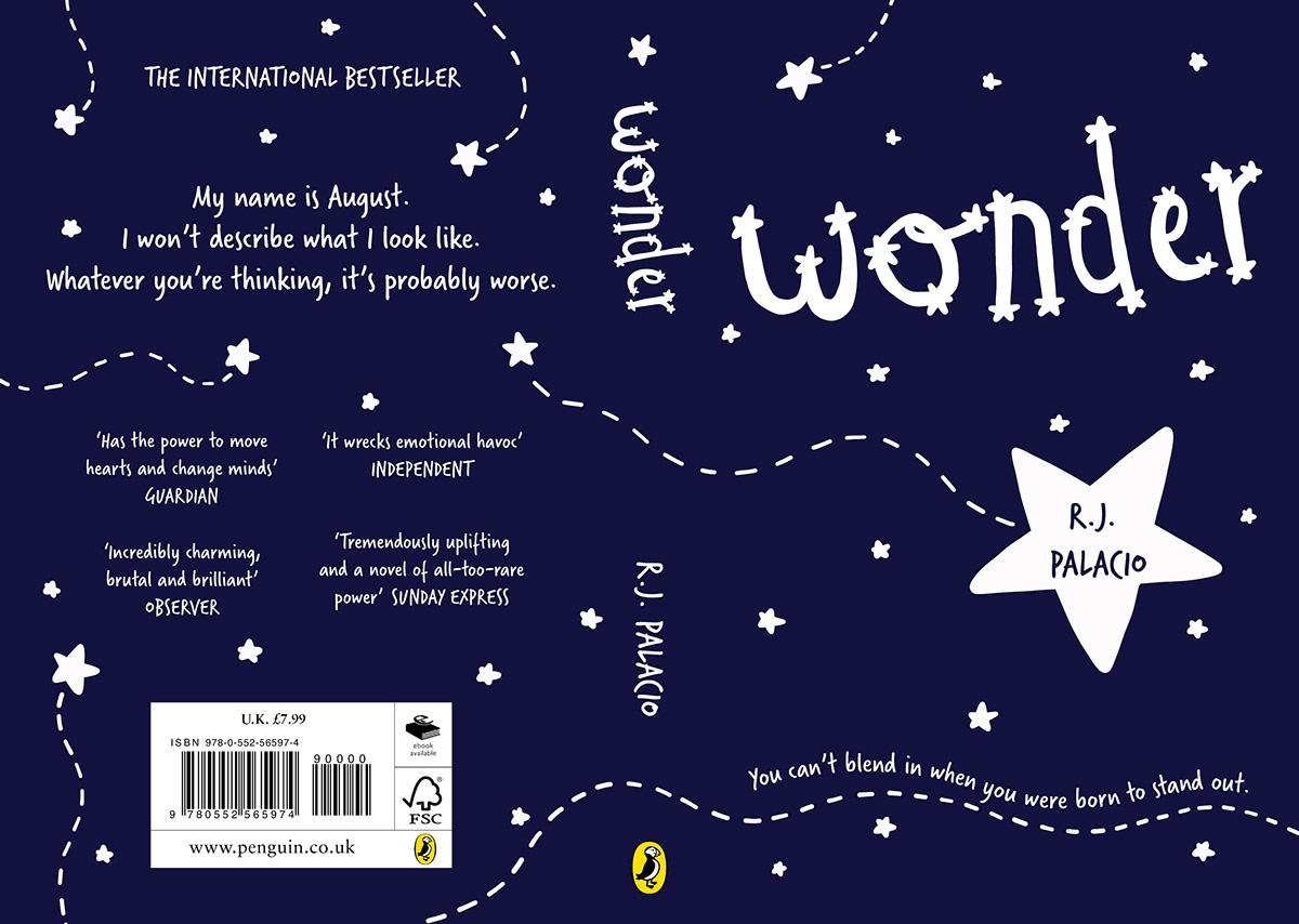 Wonder Book Cover Design on Behance