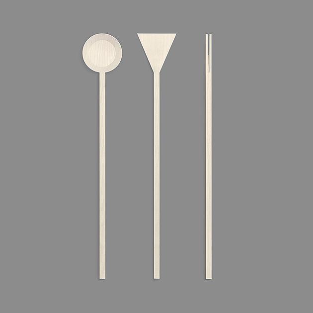 ribrand minimalist kitchen utensils on behance