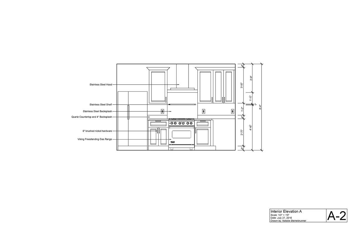 Kitchen Design Autocad On Behance