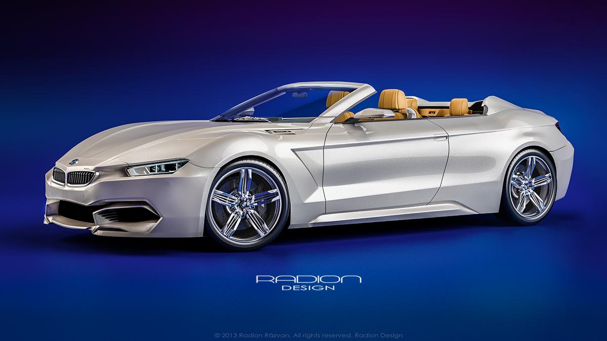 Radion Concept BMW M9 Roadster on Behance