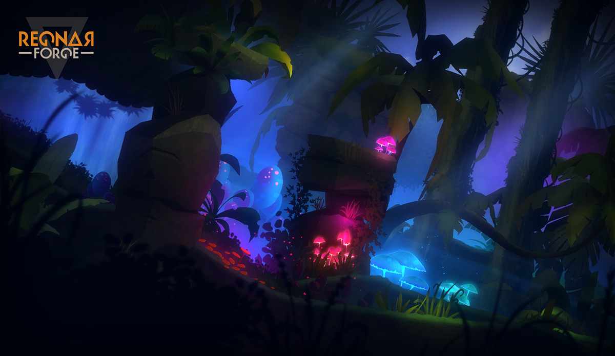 2D Jungle Pack [Game Assets] on Behance