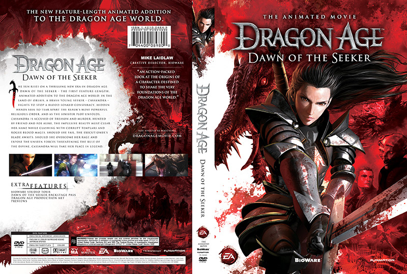 Dragon Age Dawn Of The Seeker On Behance