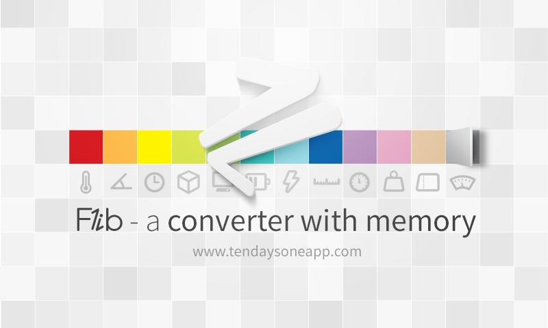App & Web Design: Flib - A converter with memory on Behance