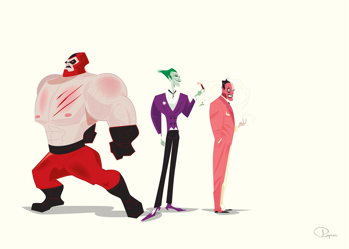 Character Design For Disney : Character designs for disney wb etc on behance