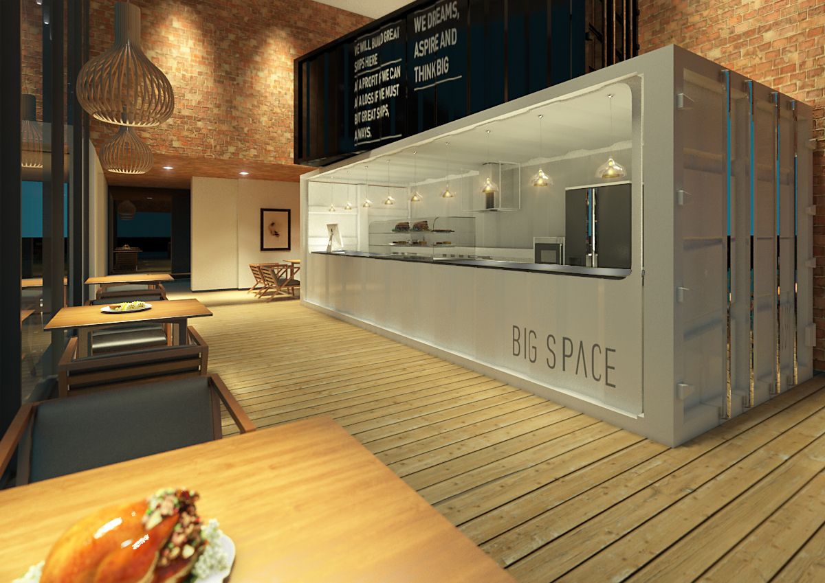Container Cafe On Behance
