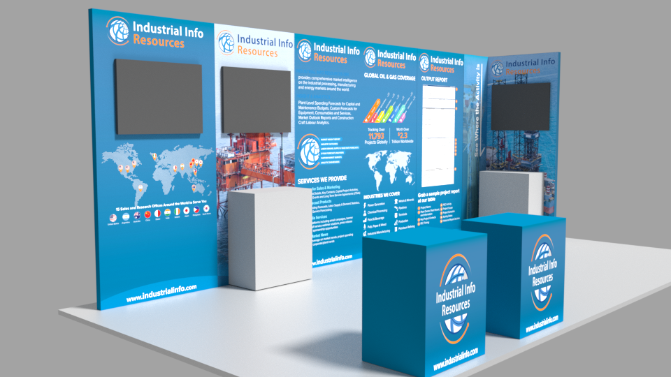 Trade Show Booth Graphic Design : Tradeshow booth panel graphic on behance