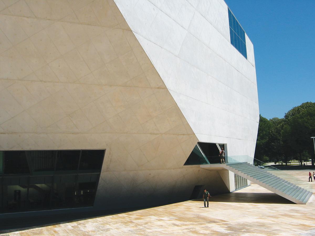 casa da música porto OMA koolhaas
