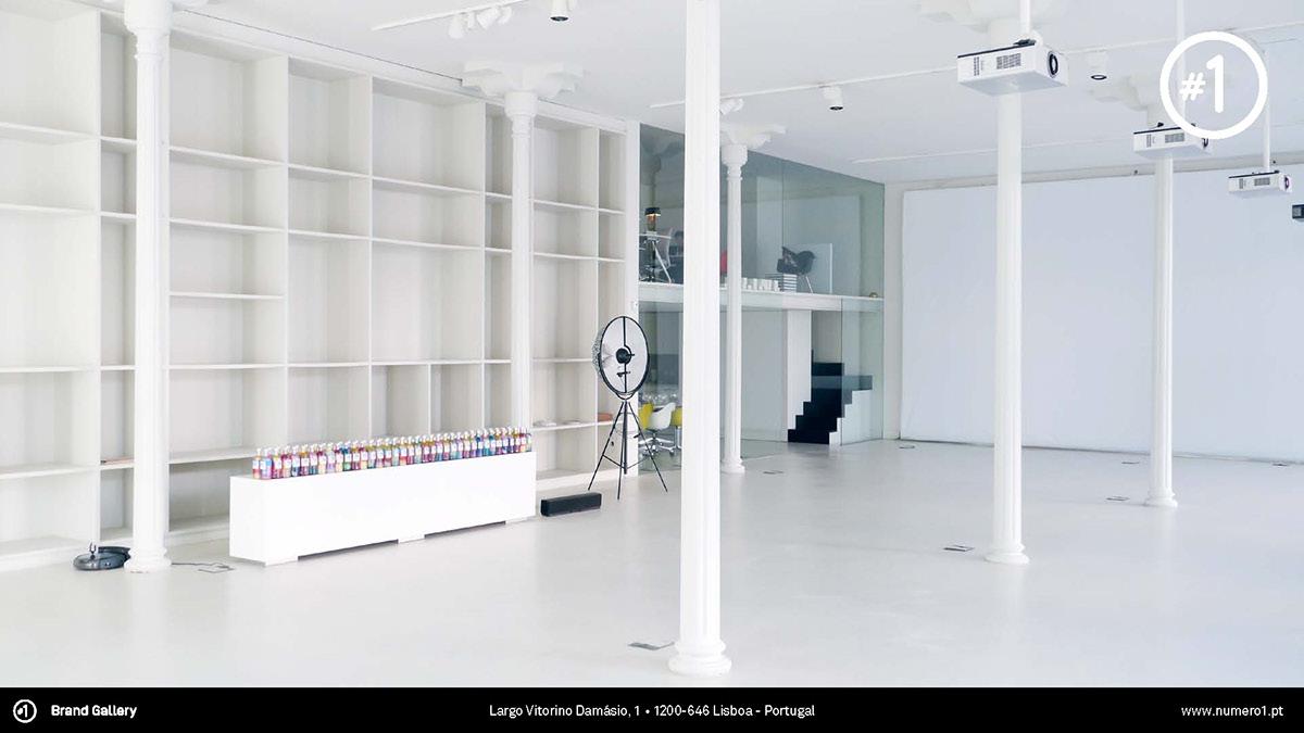 santos Interior brand gallery design Portugal Lisbon