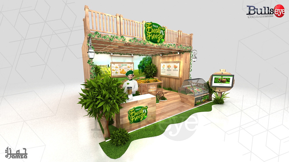 Fauji Fresh Freez Stall On Behance