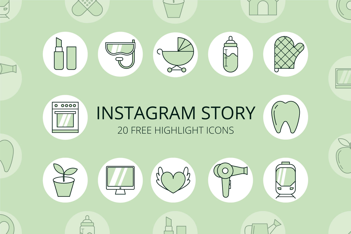 download instagram stories icon