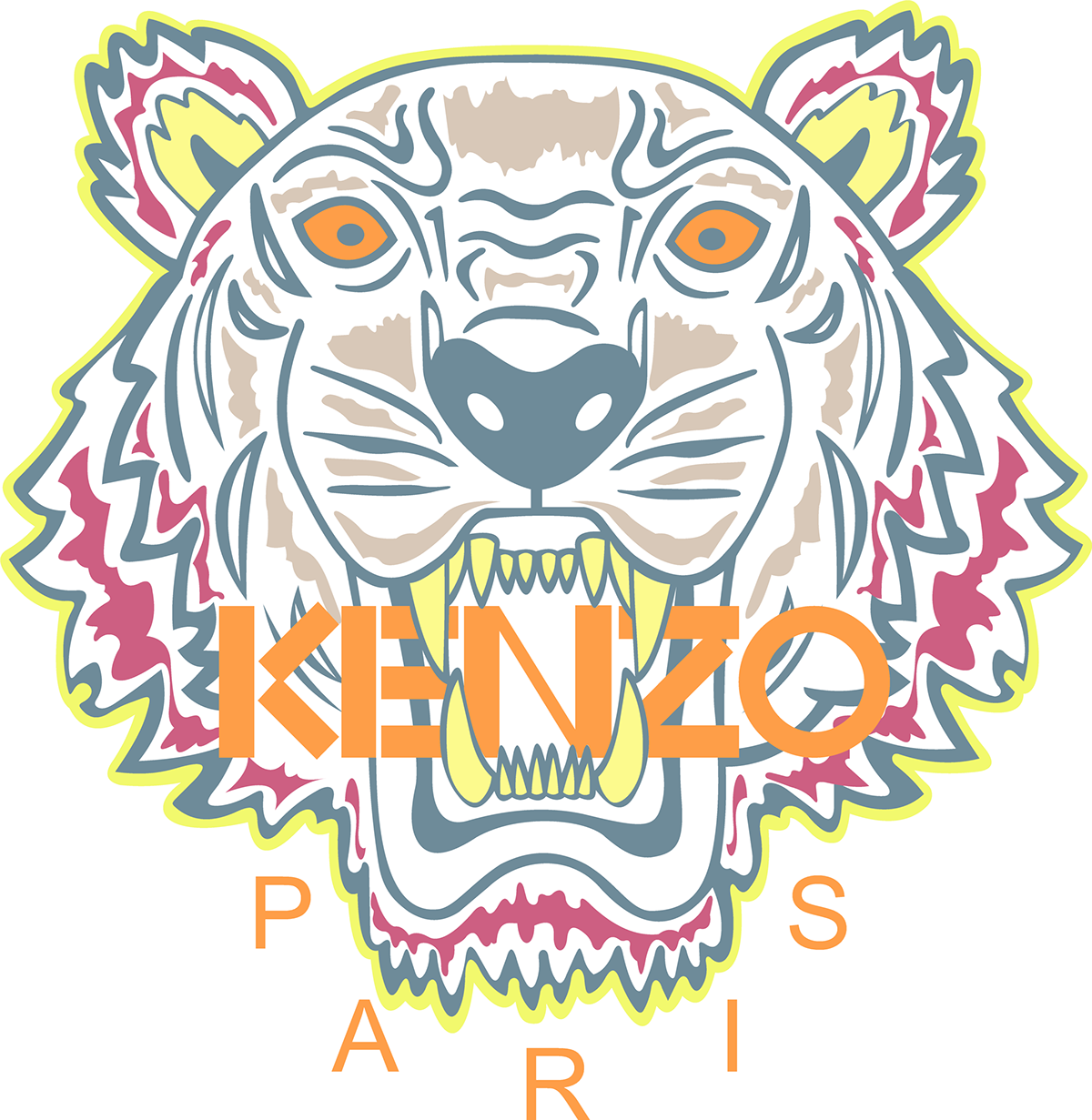 kenzo jungle logo on behance