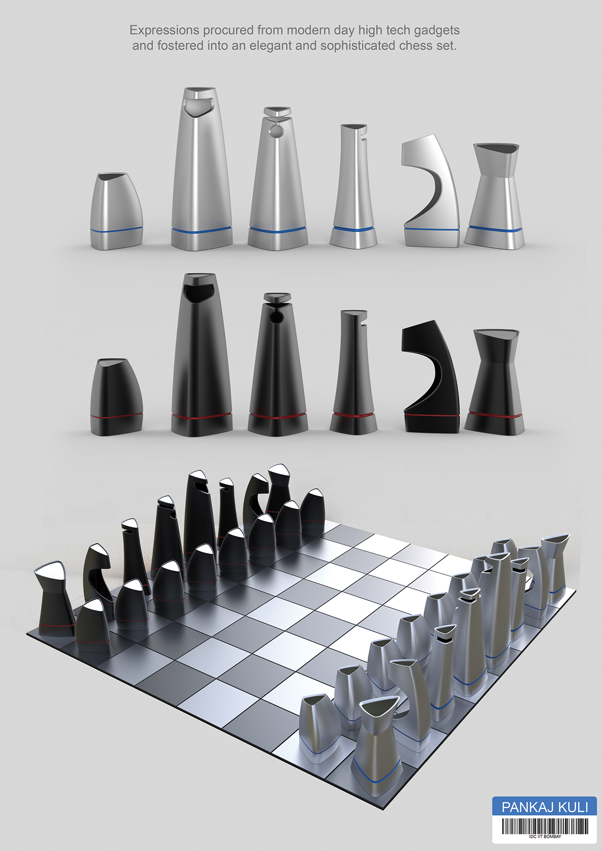 chess piece design