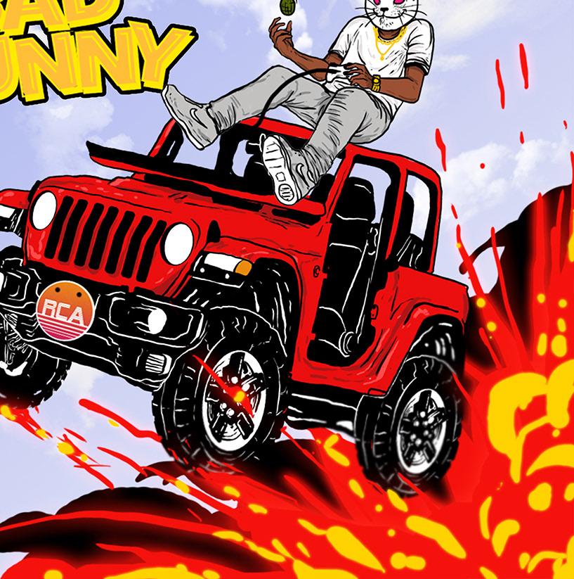 Image may contain: cartoon and land vehicle