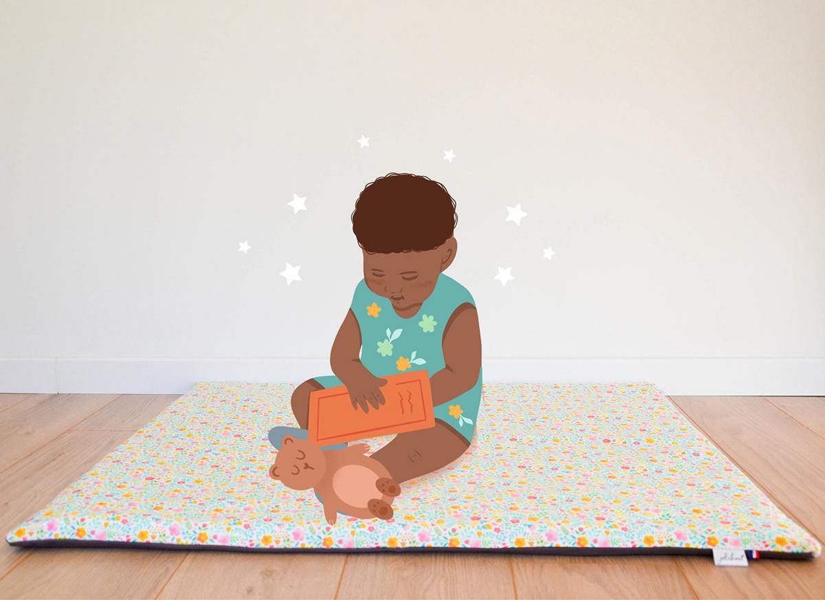 Image may contain: cartoon, toddler and baby