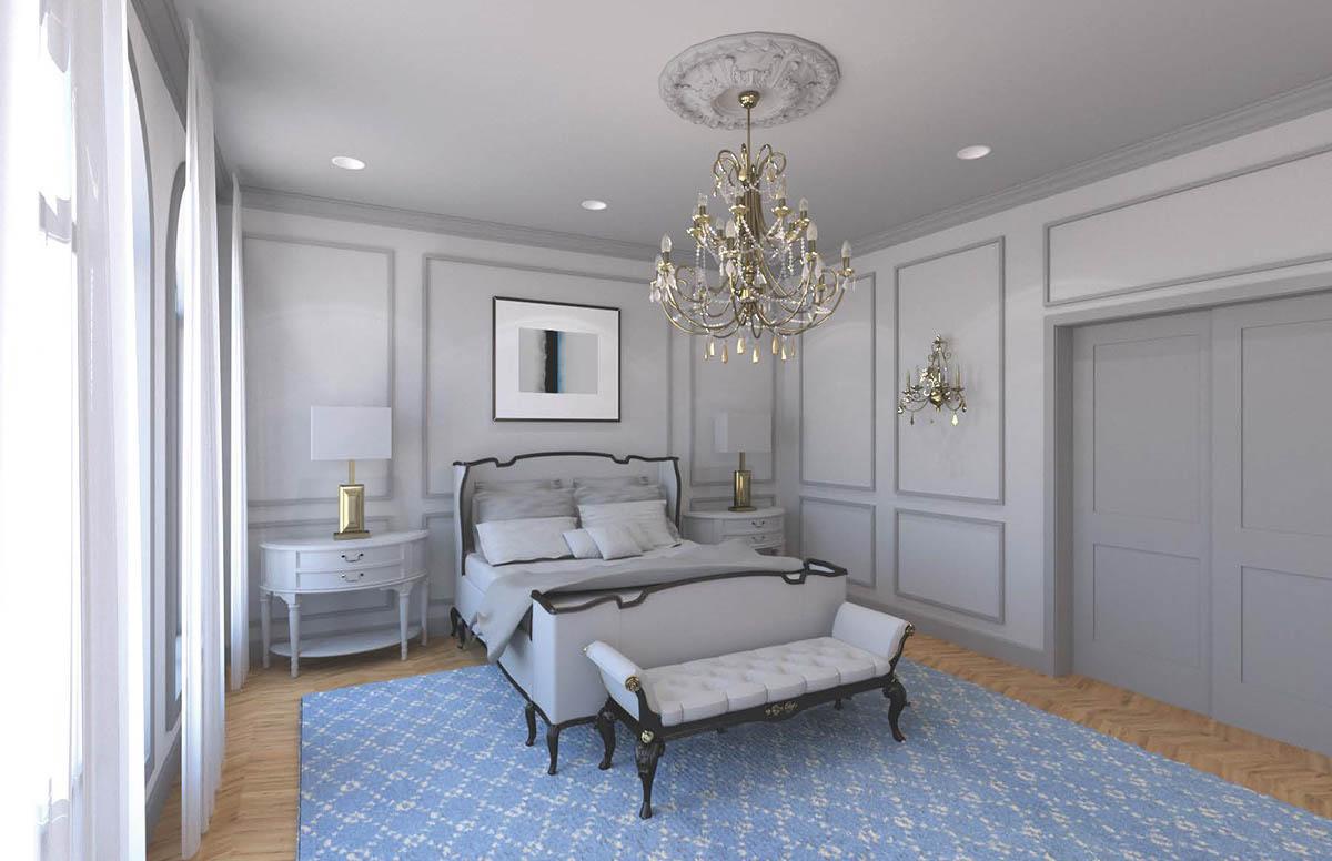 History of interior design modern boudoir on scad portfolios for History of interior design