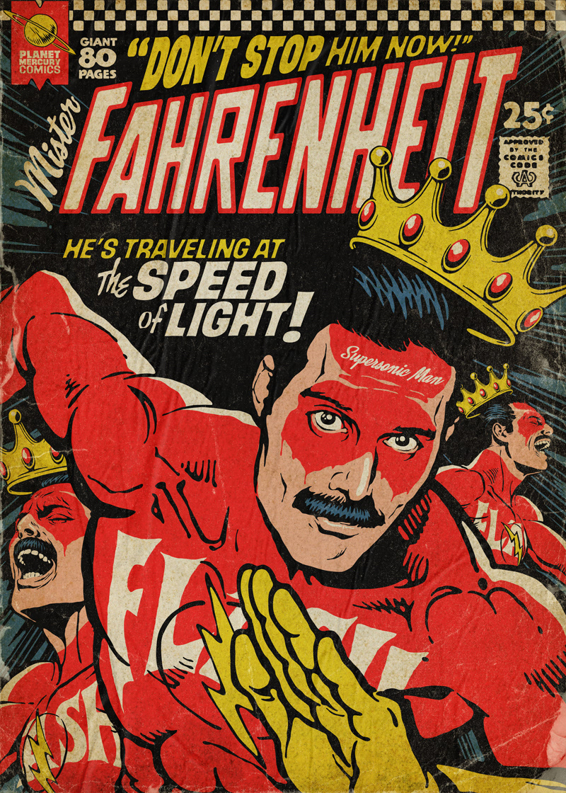 Freddie Mercury queen bohemian rhapsody