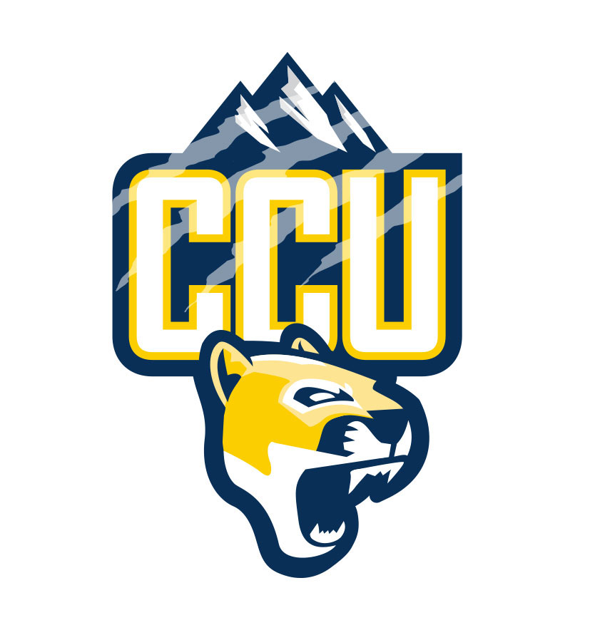 logo athletic University college Colorado sports puma mountain lion cougars Colorado Christian University