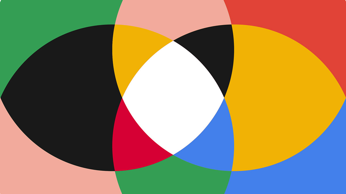google pixel pixel 4 bauhaus shape animation motion design MoGraph Primary colors colorful geometric