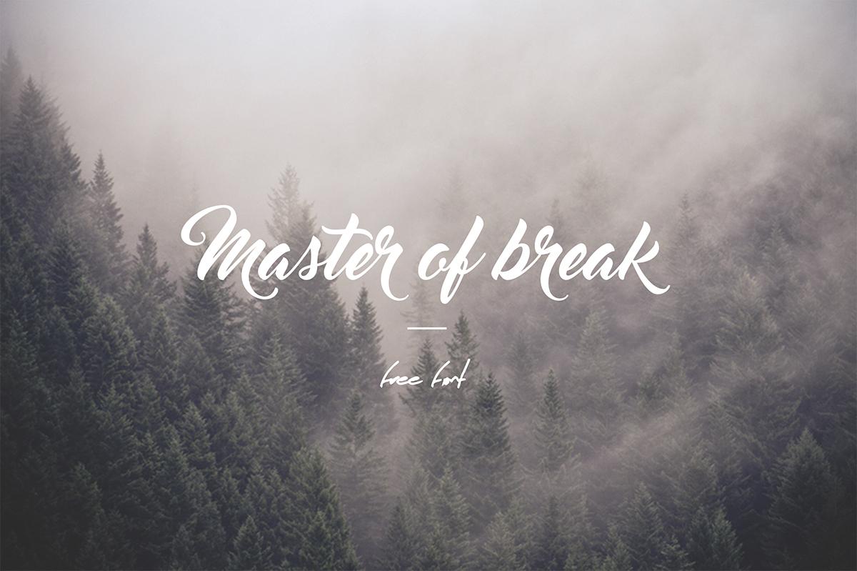 Master of Break Font Download