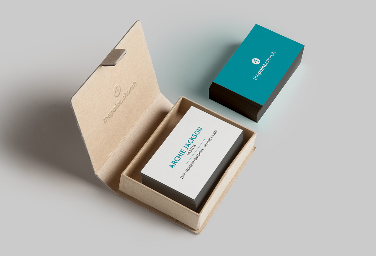 The Point Church: Business Cards on Behance