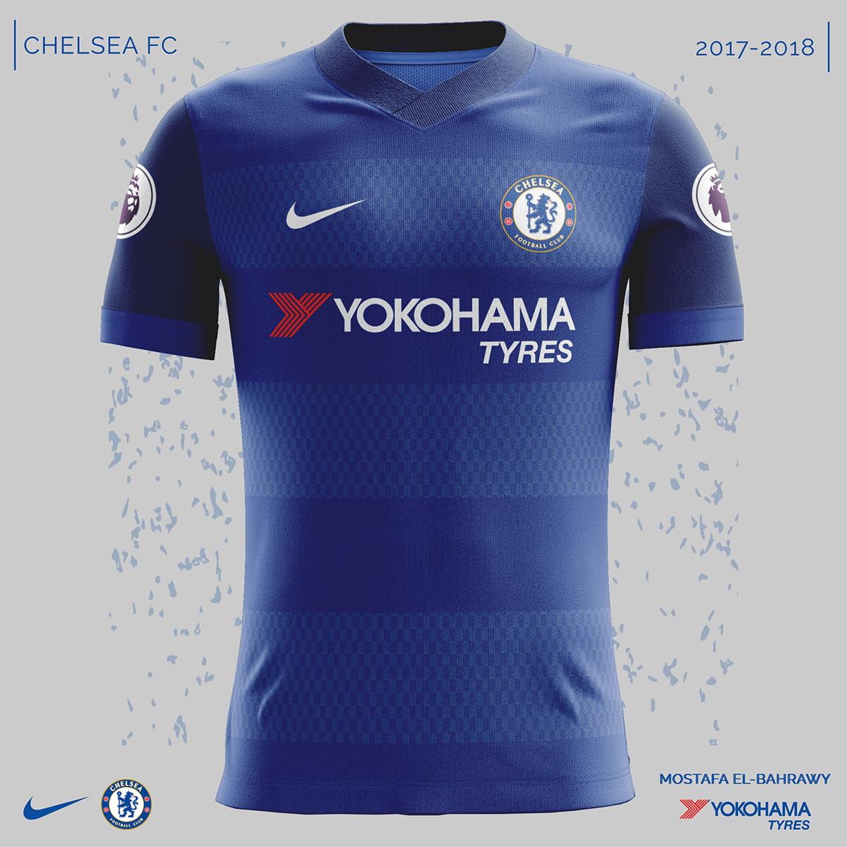 camisa do chelsea 2018