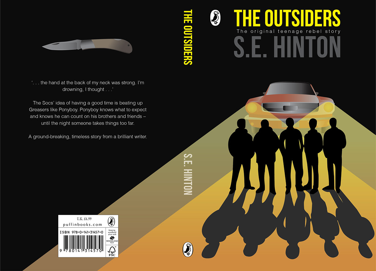book report for the outsiders The outsiders study guide contains a biography of author s e hinton, literature essays, quiz questions, major themes, characters, and a full summary and analysis.