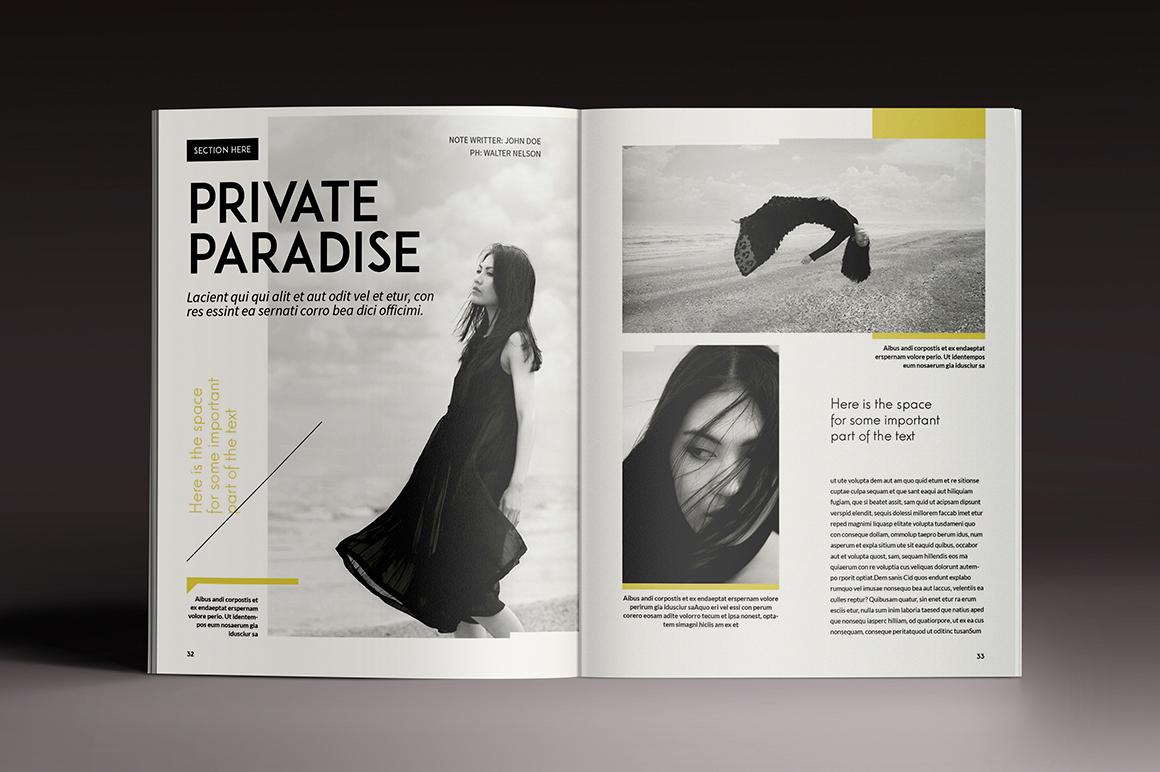 Magazine Brochure Indesign Templates On Behance