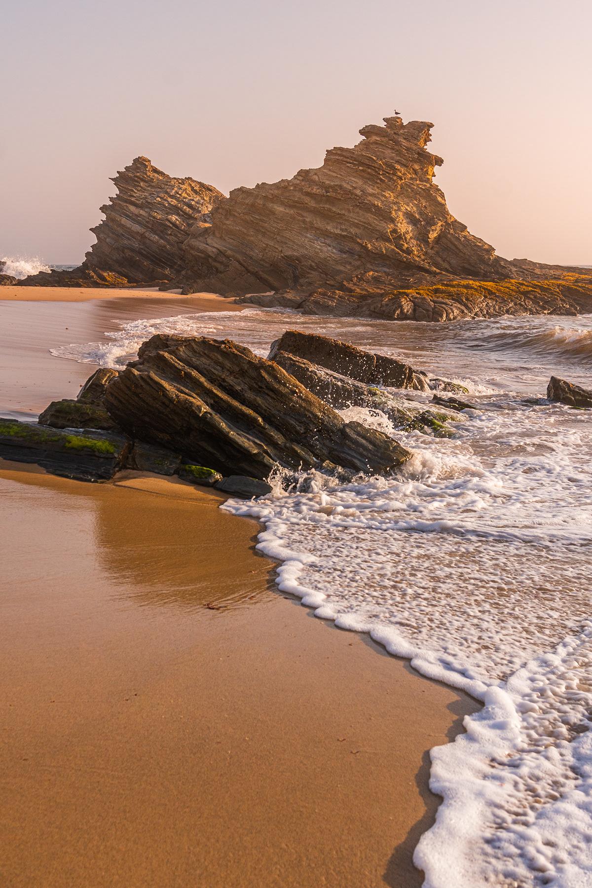 Landscape Portugal summer sunset