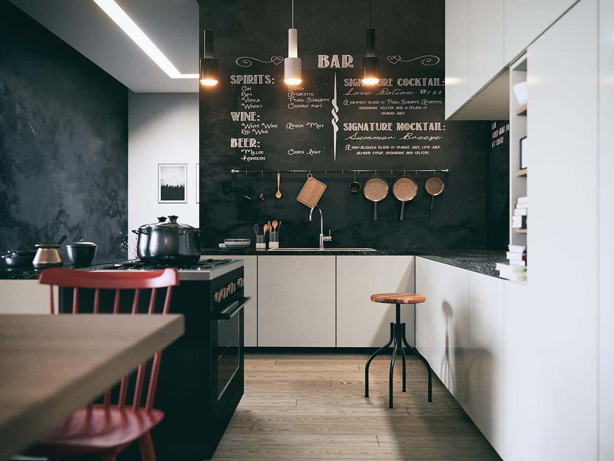 Blackboard Kitchen On Behance