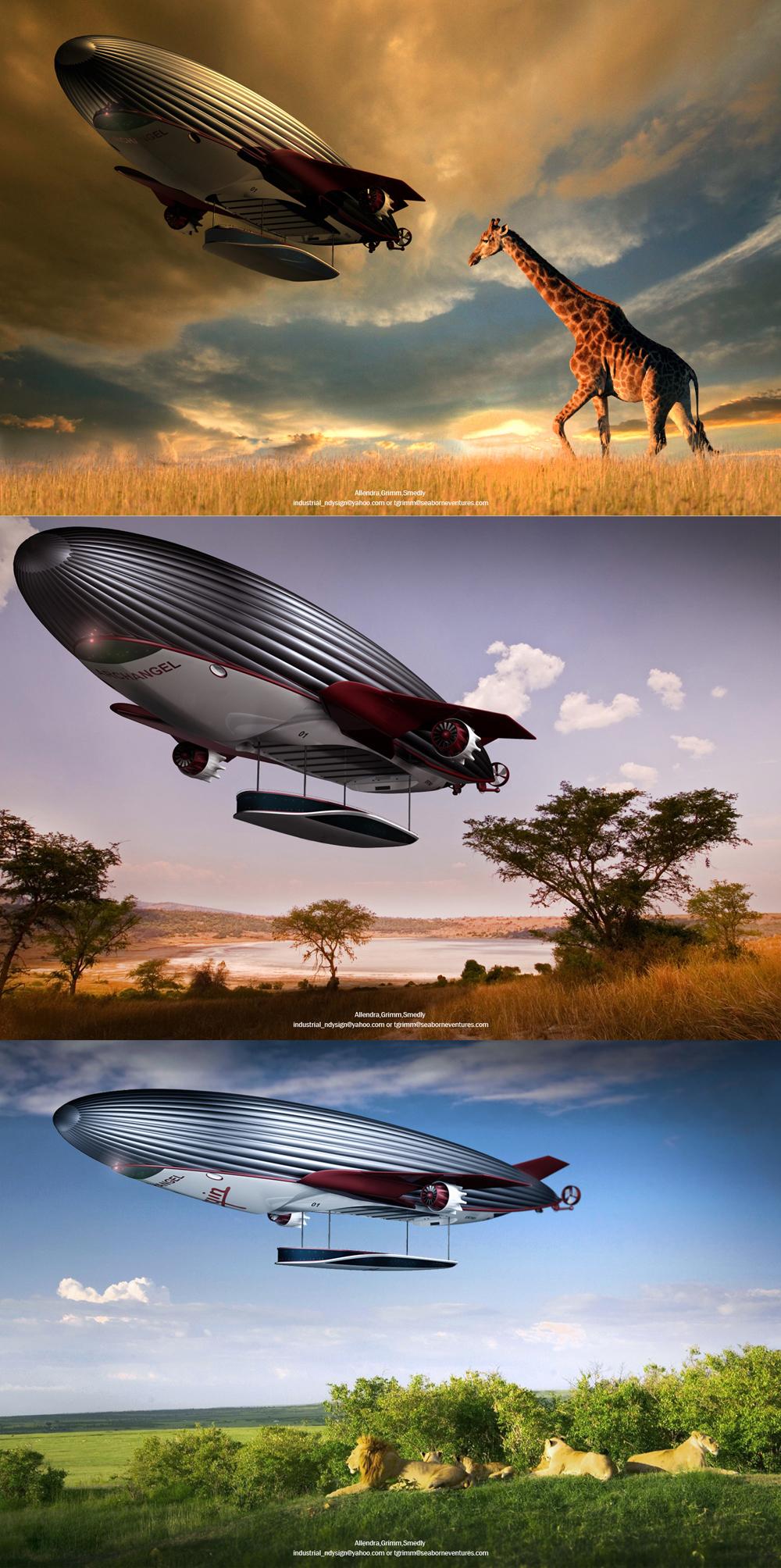 airship energy future cruising air aviation luxury