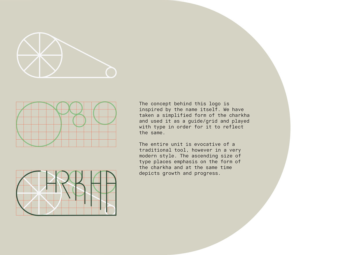 Chrkha - Identity & Website on Student Show
